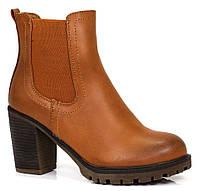 Женские ботинки Metallah camel, фото 1