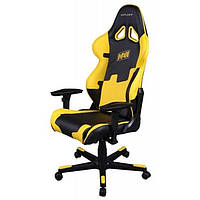 Кресло для геймеров DXRAcer Racing OH/RF21/NY/NAVI Black/Yellow