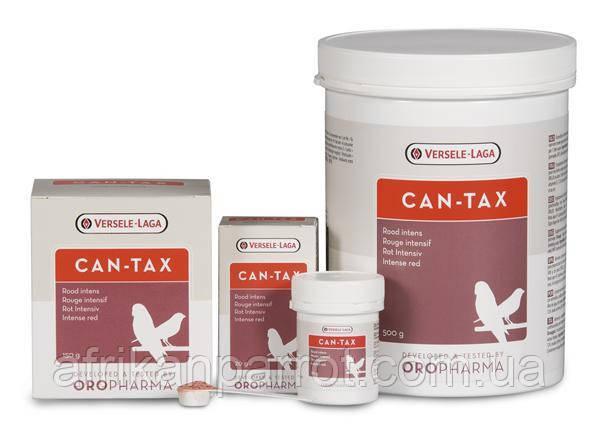 Витамины для птиц - красный краситель Versele-Laga Oropharma Can-tax 500г