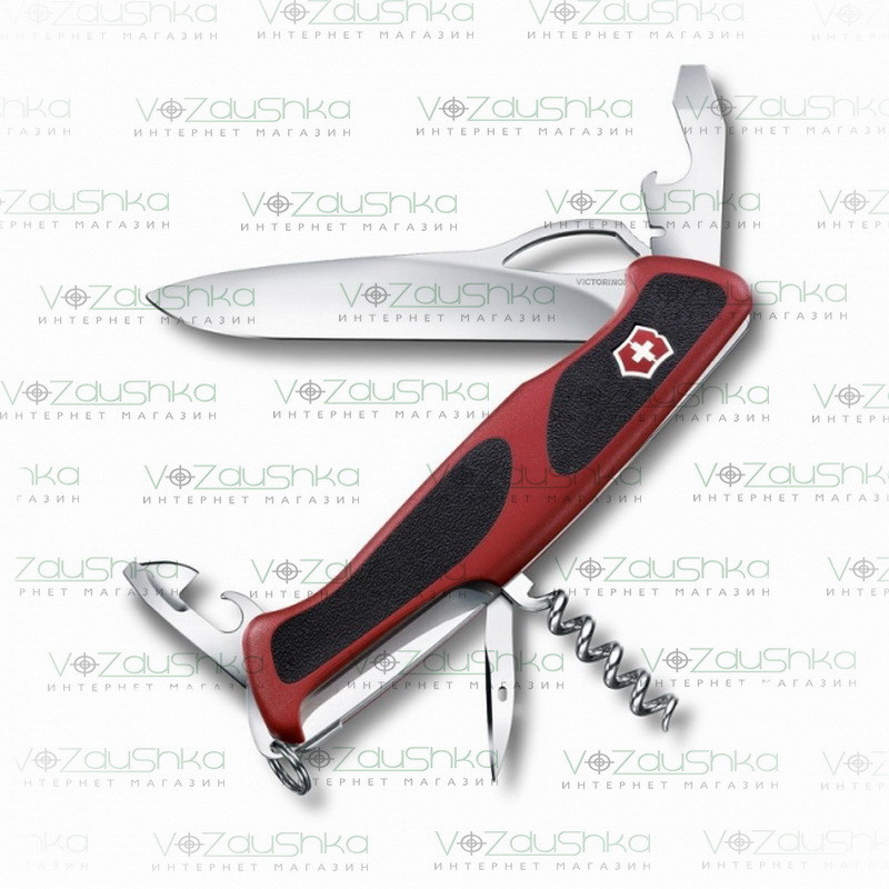 Нож Victorinox RangerGrip 61 0.9553.MC красный