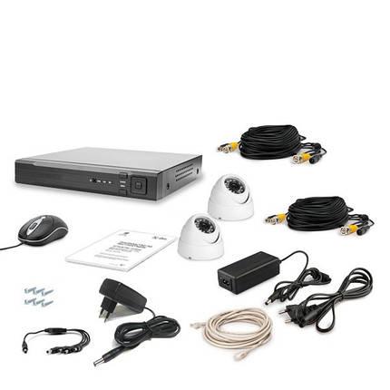 Комплект видеонаблюдения Tecsar AHD 2OUT LUX, фото 2