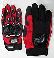 Перчатки Pro-Biker, с пластиковой защитой