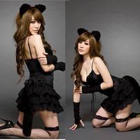 """Игровой костюм """"Женщина-кошка"""", игровой комплект Кошечка. Размер XS-S. Только предоплата."""