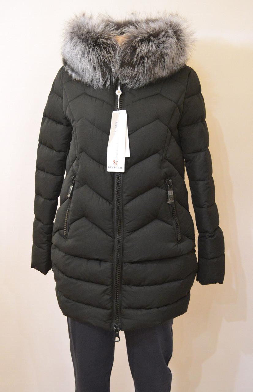 Зимняя куртка с капюшоном и мехом DES BILLIE 276о (XXL)