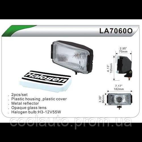 Дополнительные фары DLAA 7060 ОW