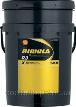 Моторное масло Shell R3 X Rimula 15W-40 4л