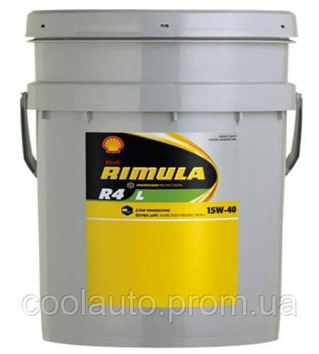 Моторное масло Shell R4 X Rimula 15W-40 55л