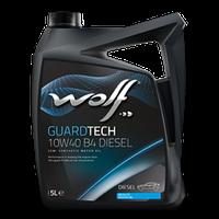 Моторное масло Wolf Guardtech B4 Diesel 10W-40 4л