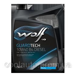 Моторное масло Wolf Guardtech B4 Diesel 10W-40 4л, фото 2