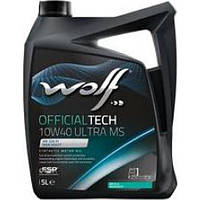 Моторное масло Wolf Officialtech MS Ultra Low Saps 10W-40 1л