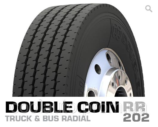 Шины Double Coin RR202 295/60 R22.5 рулевая