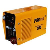 Инвертор Росвелд ММА-200,220В,свар.ток20-200А,эл.1,6-4,0.вес 3 кг