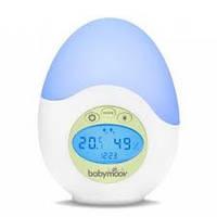 Музыкальный ночник с термометром и гигрометром Babymoov A015015