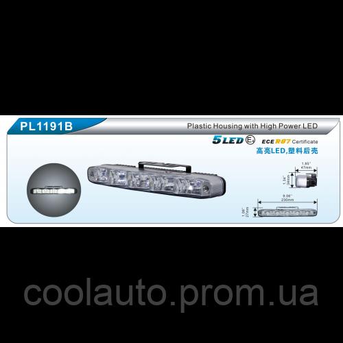 Дневные ходовые огни DLAA PL-1191B-W