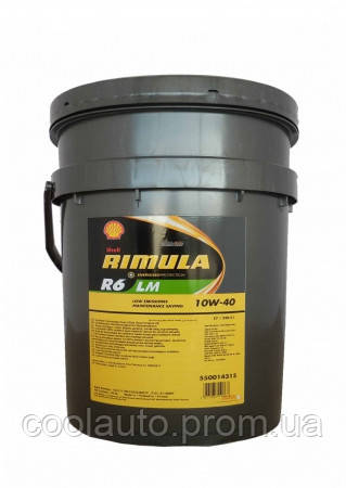 Моторное масло Shell R6 LM Rimula 10W-40 209л