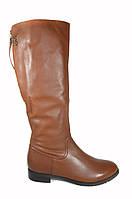Кожаные сапоги женские Gotti натуральный мех