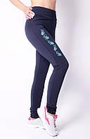 Модные женские лосины на флисе