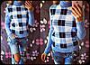 """Женский стильный вязаные свитер """"Клетка"""" , в расцветках, фото 3"""