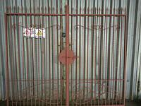 Кованые ворота арт.в 24