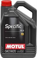 Моторное масло Motul Specific 948B 5W-20 5л
