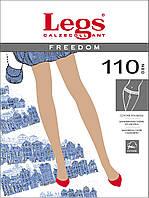 Хлопковые колготки с заниженной талией Freedom  110 Den