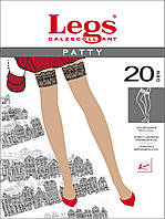 Классические чулки на силиконе Patty 20 Den
