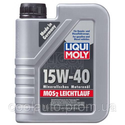 Моторное масло Liqui Moly Mos2 Leichtlauf 15W-40 4л