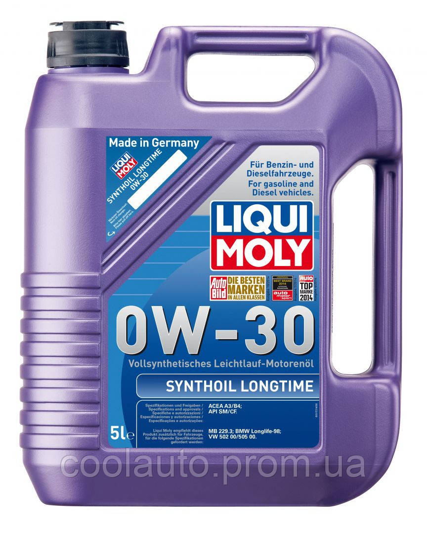 Моторное масло Liqui Moly Synthoil Longtime 0W-30 1л