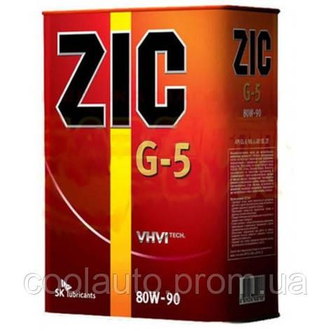 Трансмиссионное масло ZIC G-5 80W-90 1л, фото 2