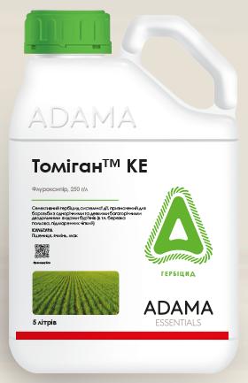 Томиган 250 КЭ послевсходовый гербицид (5л) Адама