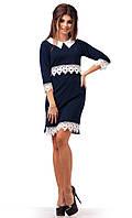 Платье  с кружевом в расцветках  12960, фото 1
