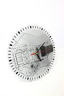 """Часы настенные из стекла """"Music"""""""