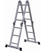 Лестница алюм. Трансформер 4х3 Forte с платформой