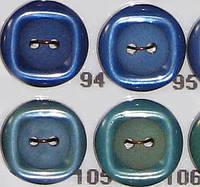 Пуговицы прошивные на 2 дырочки диаметр 16 мм