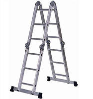 "Лестница алюм. Werk ""Трансформер""4х4"" с платформой"