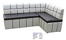 Кухонный угловой диван со спальным местом Лира