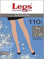 Хлопковые колготки с добавкой шерсти Cotton 110 Den