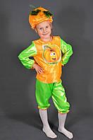 Детский карнавальный костюм Тыква-2