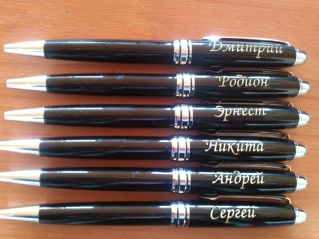 именные металлические ручки в футляре 1