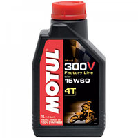 Моторное масло Motul 4T 300V Factory Line Off Road 15W-60 1л