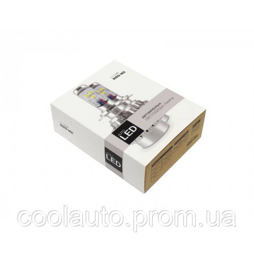 Светодиодные LED лампы Sho-Me G2.1 H4 6000K 40W