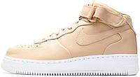 Мужские кроссовки Nike Air Force 1 high Nikelab Vachetta Tan, найк, айр форс