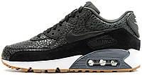 Женские кроссовки Nike Air Max 90 Premium White/Black, найк, айр макс