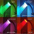 Светодиодная насадка для душа турбина LED Shower Bradex с подсветкой 4 цветовых режима, фото 3