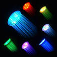 Светодиодная насадка для душа турбина LED Shower Bradex с подсветкой 4 цветовых режима, фото 4