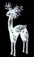 Светодиодный олень объемный эксклюзивный 1,86м*0,8м*0,25м