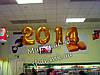 Воздушные цифры 2014 к Новому Году