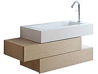 """Дизайнерская тумба """"ступенька"""" в ванную комнату"""