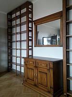 Библиотека (книжные шкафы) – изготовление по индивидуальному заказу