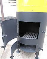 Дровяной водонагреватель с электрическим ТЭНом (3 кВт)
